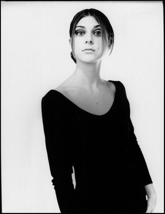 Francesca posing