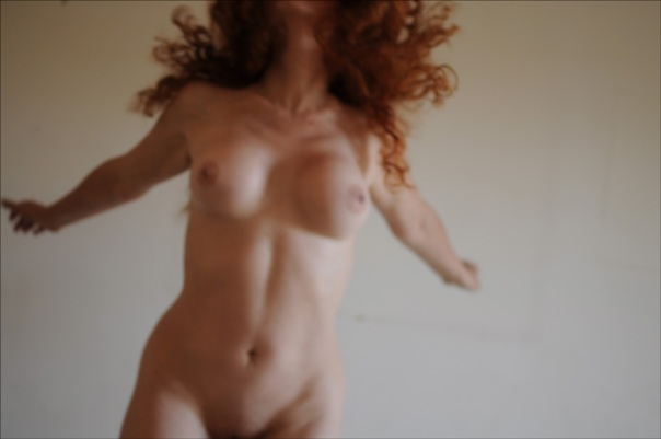 nude red woman