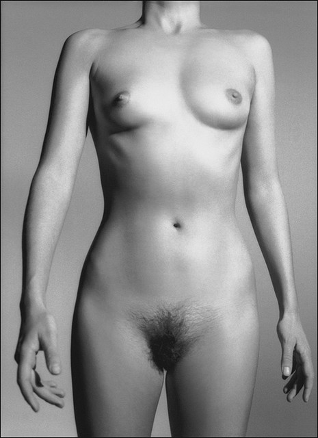 black and white photography of a nude woman