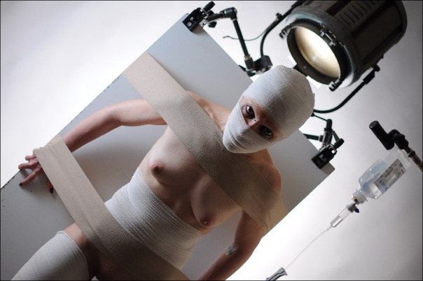 Hydroponic Woman